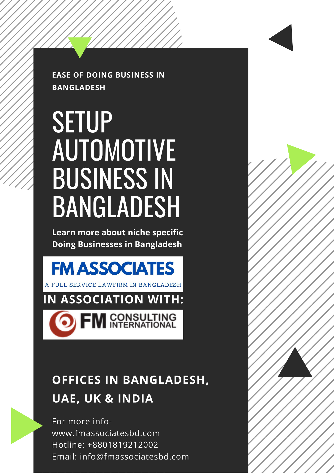 How to Setup Automotive Business in Bangladesh
