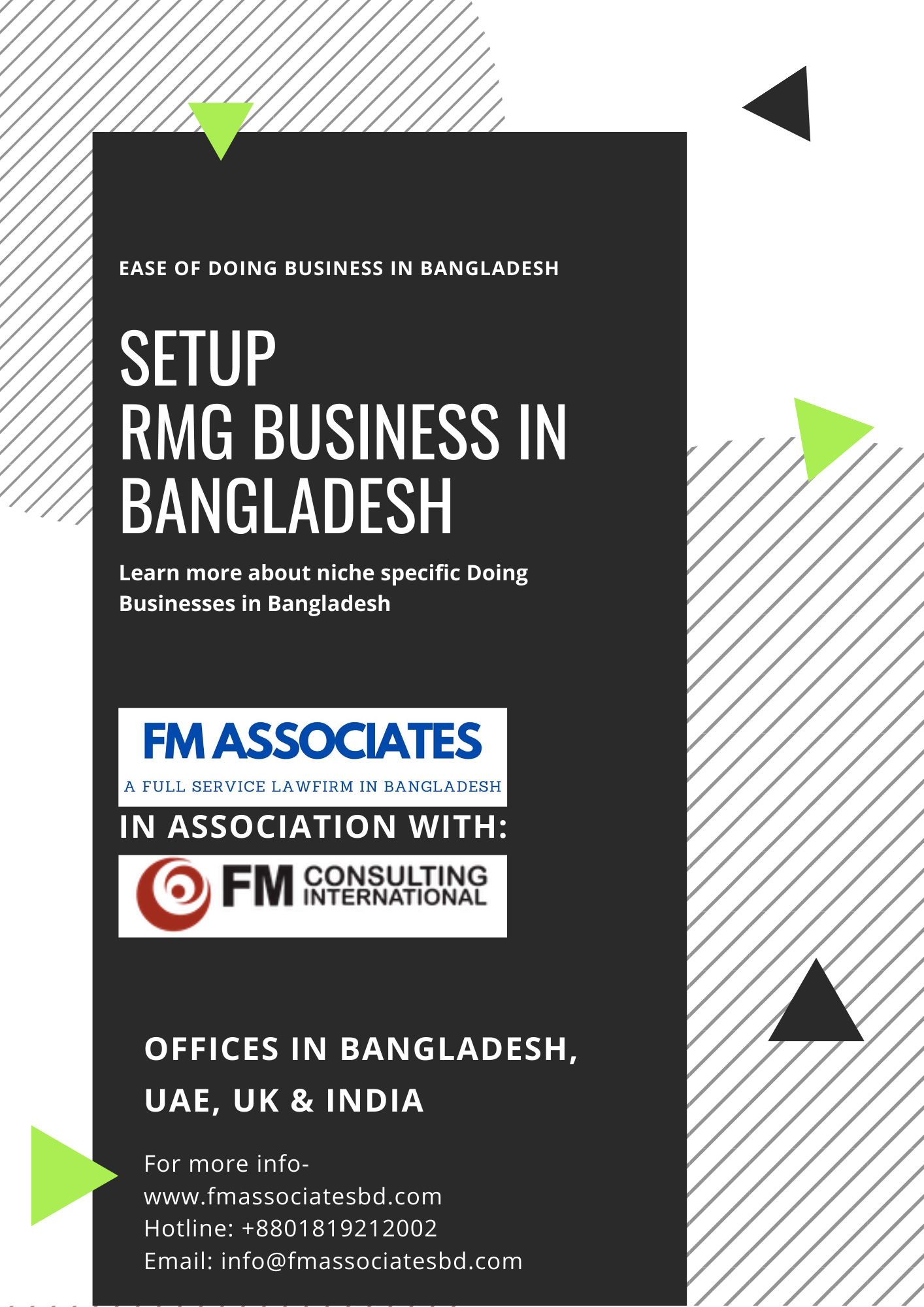 How to Setup Ready Made Business in Bangladesh