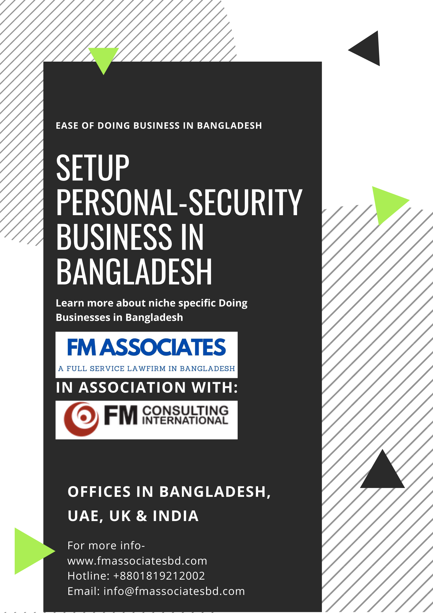 How to Setup Security Business in Bangladesh