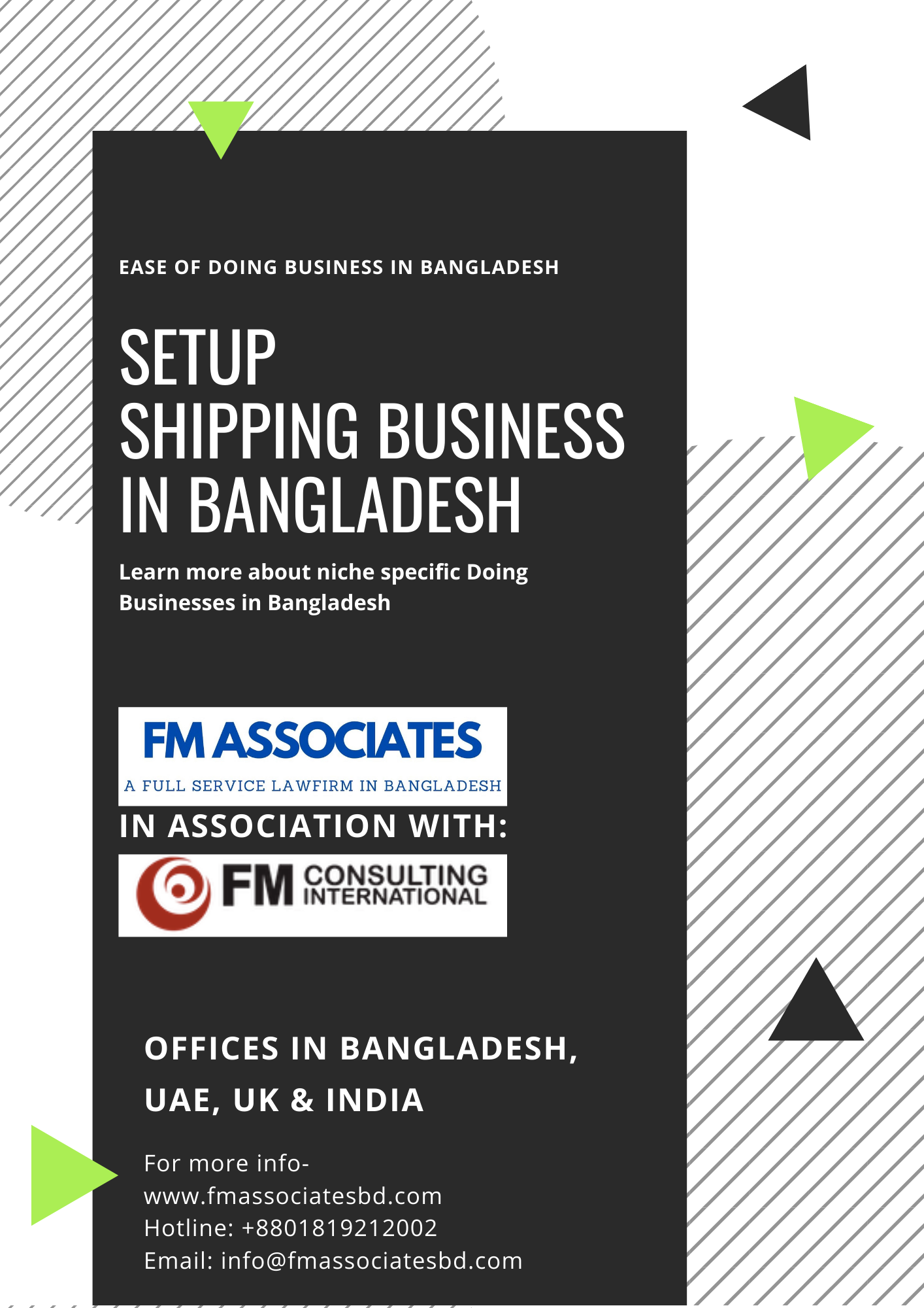 How to Setup Shipping Business in Bangladesh