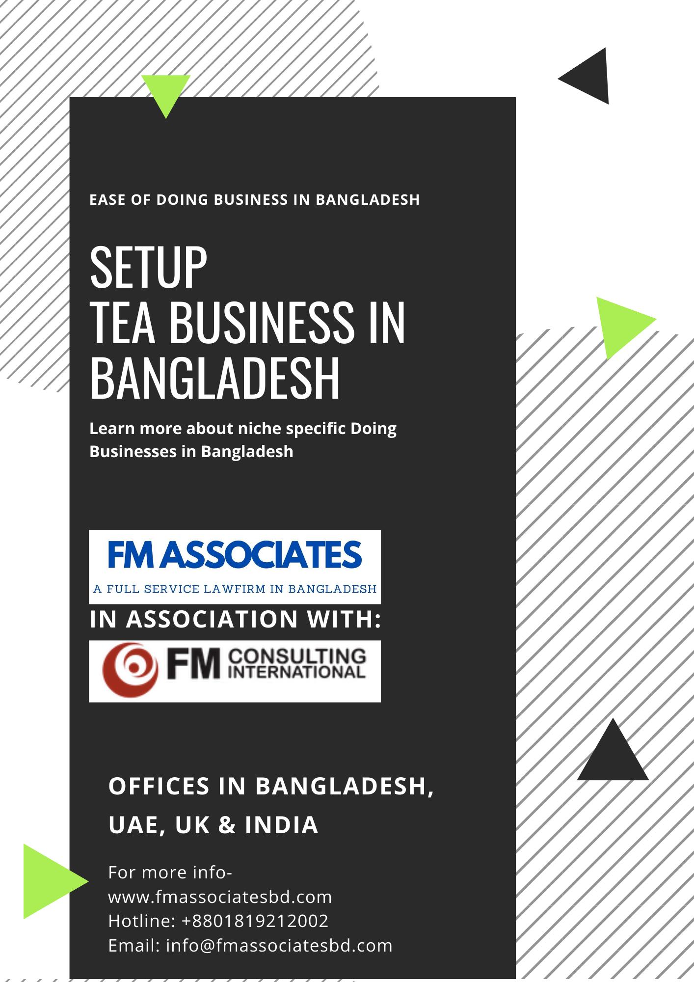 How to Setup Tea Business in Bangladesh