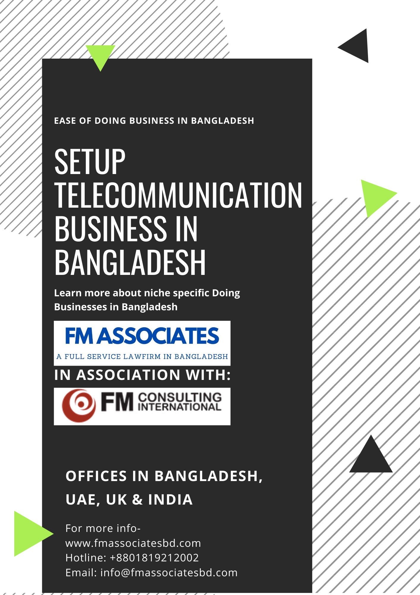How to Setup Telecommunication Business in Bangladesh