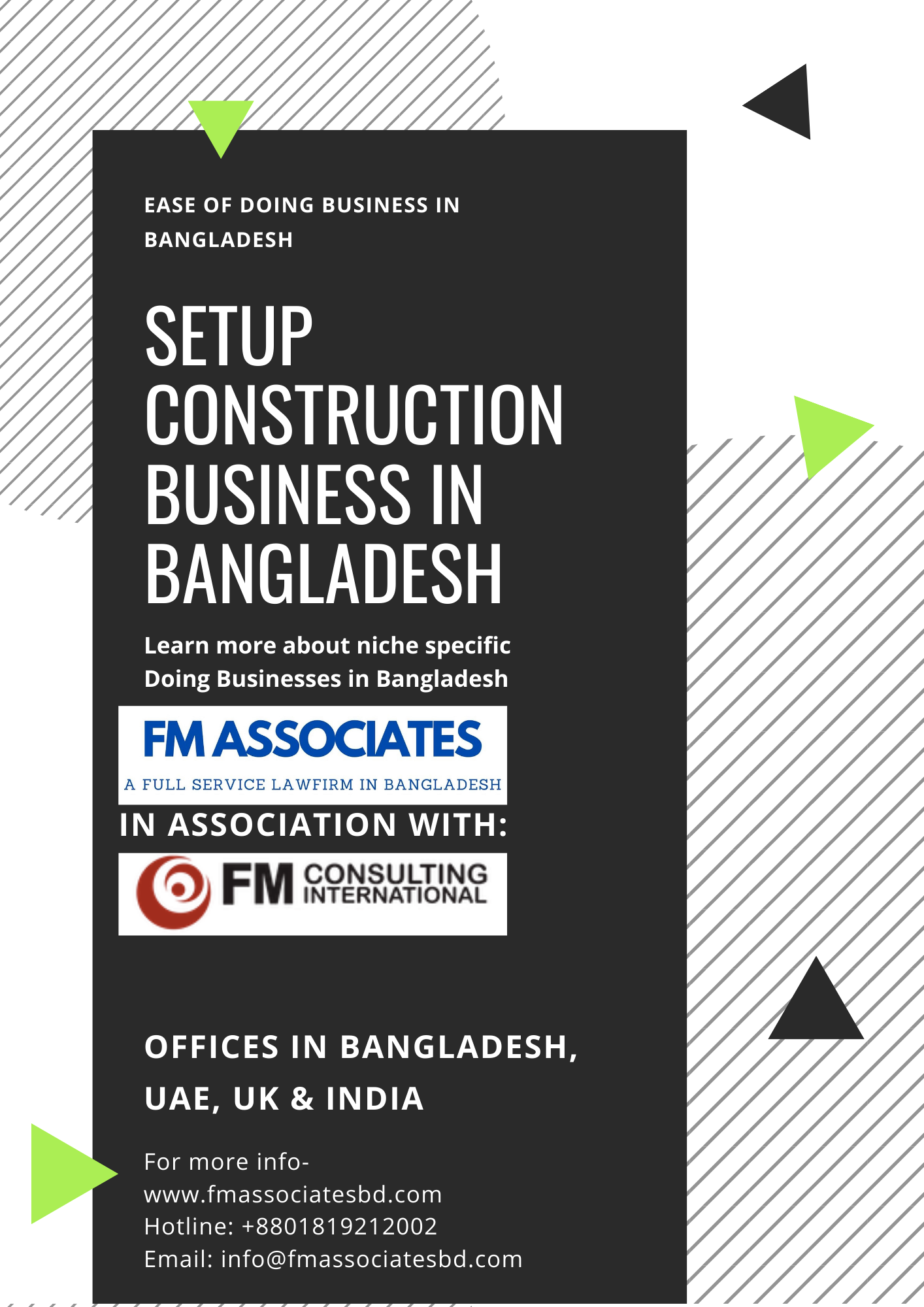 How to Setup Construction Business in Bangladesh