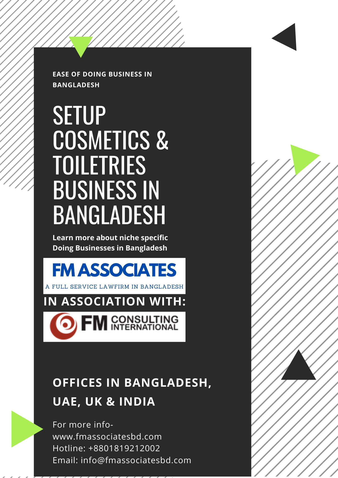 How to Setup Cosmetics & Toiletries Business in Bangladesh