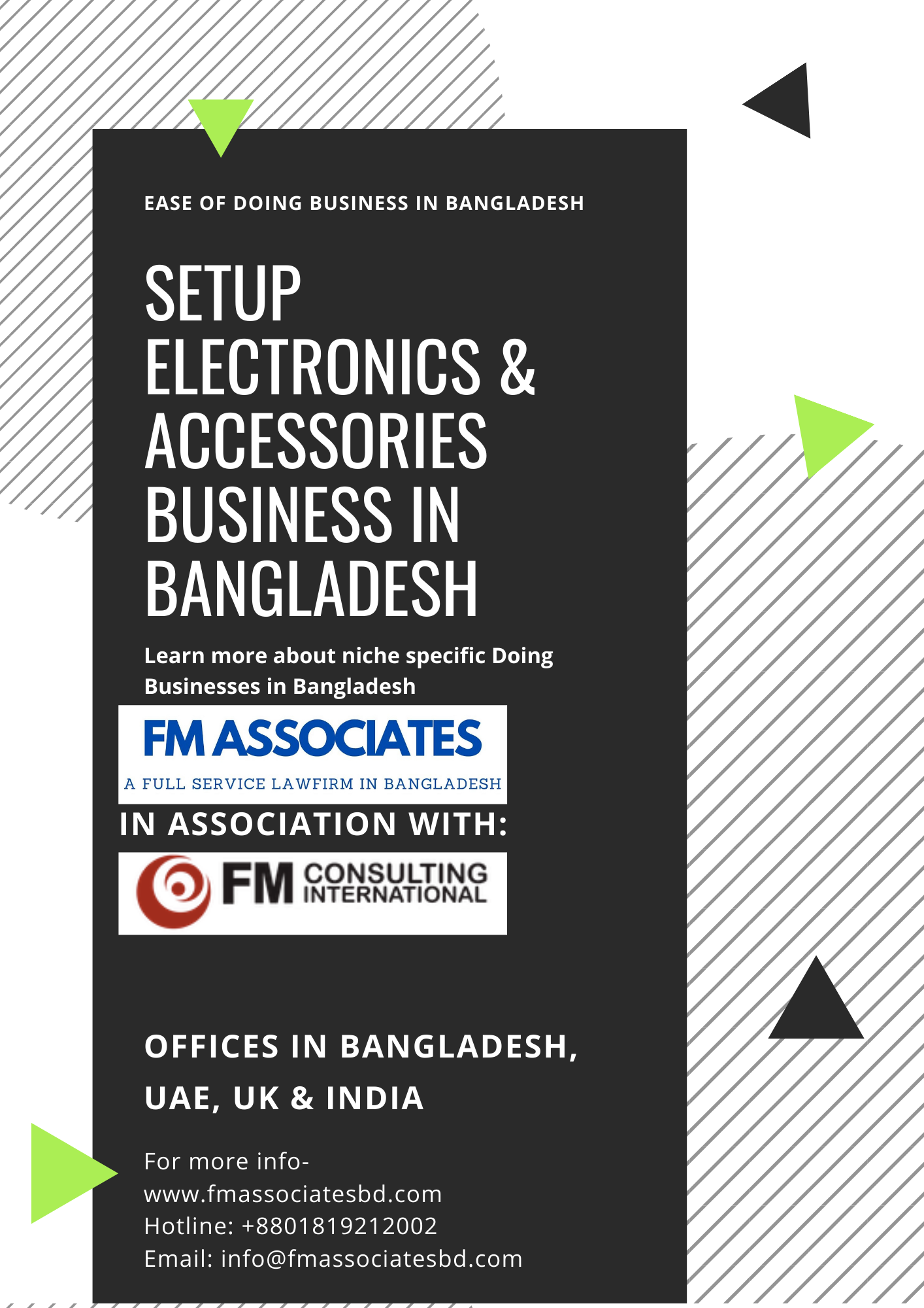 How to Setup Electronics & Accessories Business in Bangladesh