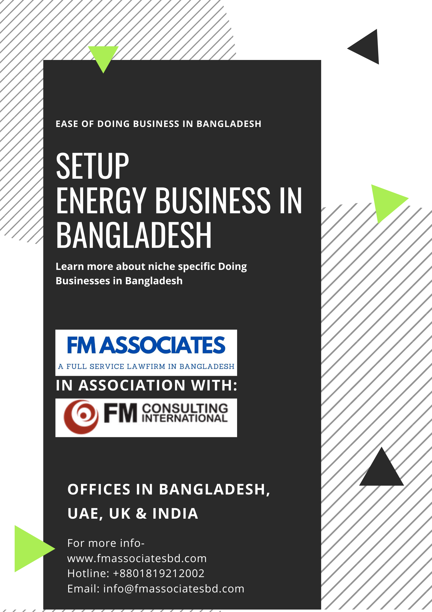 How to Setup Energy Business in Bangladesh