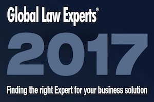 Global Law Expert-M&A- Law Firm of the Year (2017)