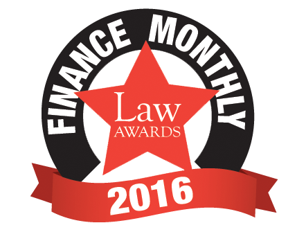 Finance Monthly Law Awards 2016
